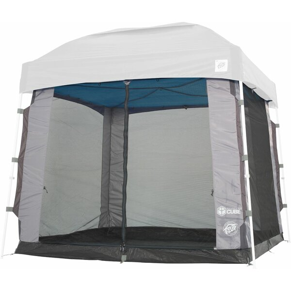 Cube Mesh 5 Person Tent with Carry Bag by E-Z UP
