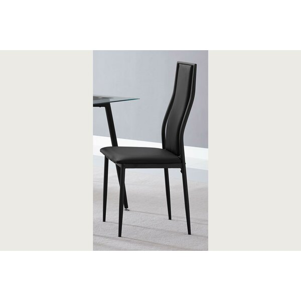 Arvizu Upholstered Dining Chair (Set of 4) by Orren Ellis