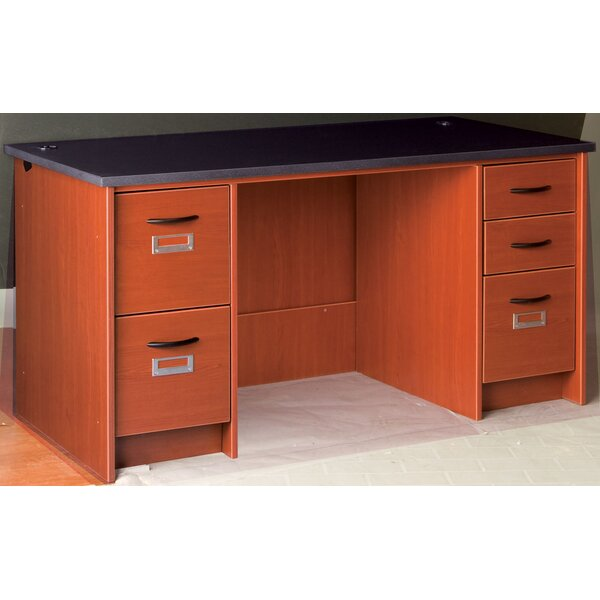 Library Executive Desk by Stevens ID Systems