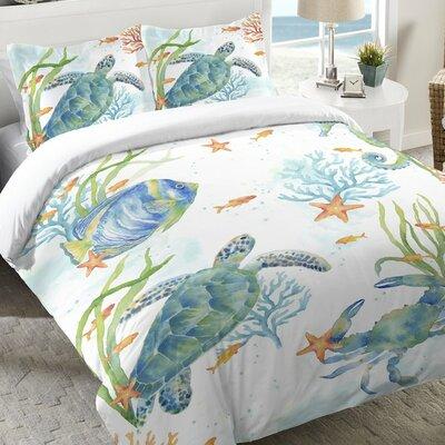 Cannella Sea Life Serenade Duvet Cover