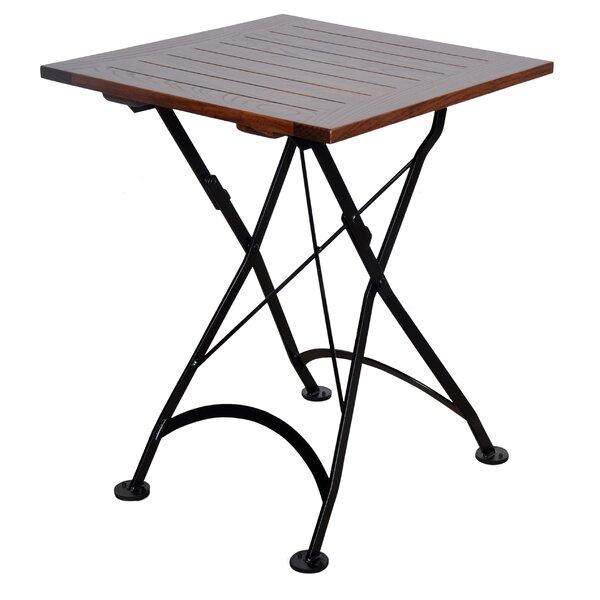 Calvano Folding Bistro Table by Latitude Run