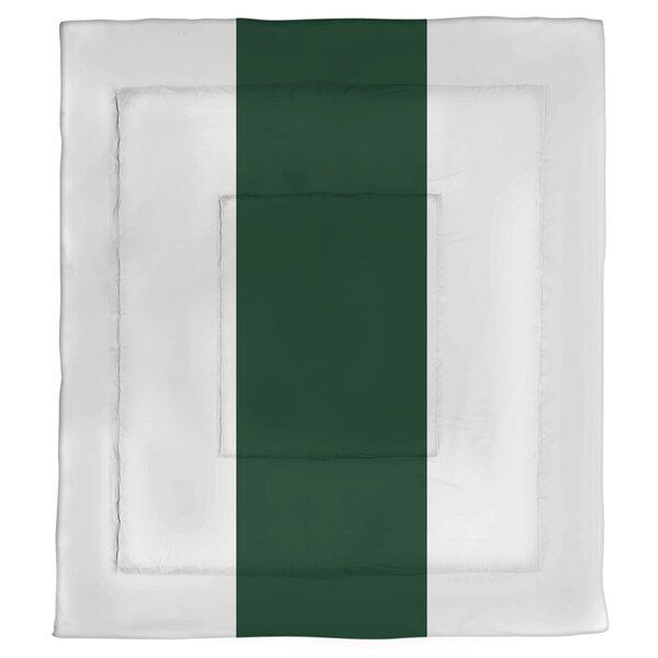 College Stripes Waco Football Microfiber Single ReversibleComforter