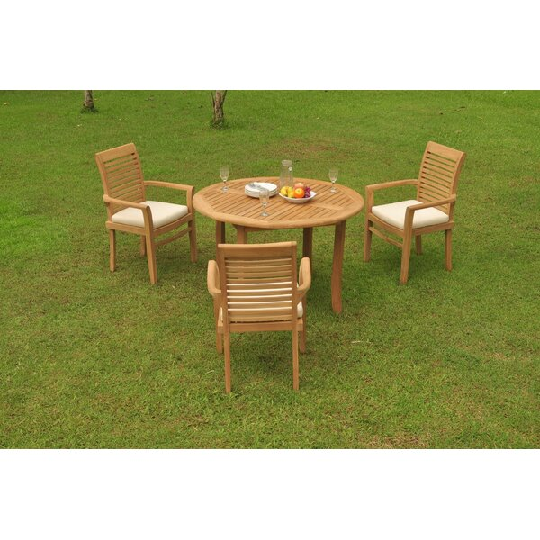 Howth Luxurious 4 Piece Teak Dining Set