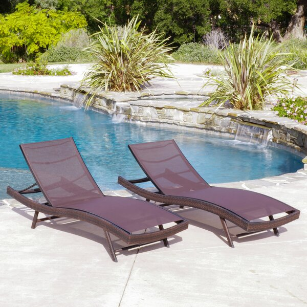 Boyden Reclining Chaise Lounge (Set of 2)