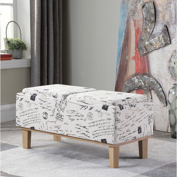 Sahaj Upholstered Storage Bench by Ophelia & Co.