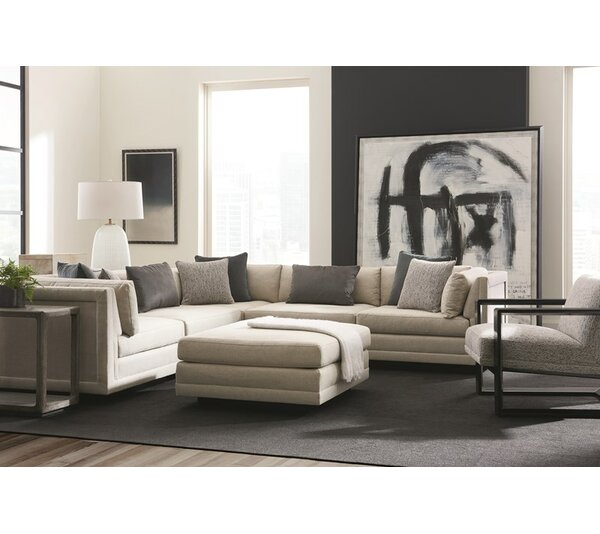 Fusion Symmetrical Sectional By Caracole Modern