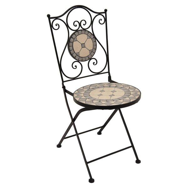 Granado Metal Bistro Chair by Fleur De Lis Living