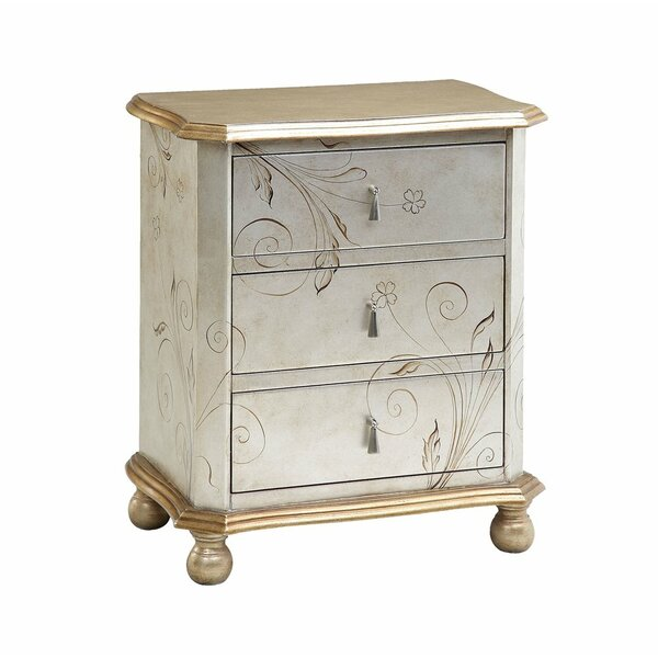 Forsberg 3 Drawer Accent Chest