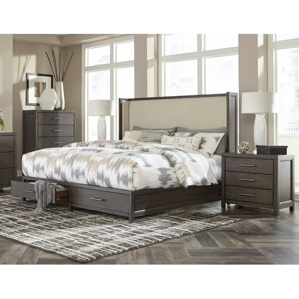 Easthampton Upholstered Storage Queen Standard Bed Configurable Bedroom Set by Modern Rustic Interiors