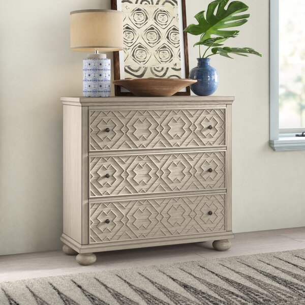 Mayra 3 Drawer Accent Chest by Mistana Mistana