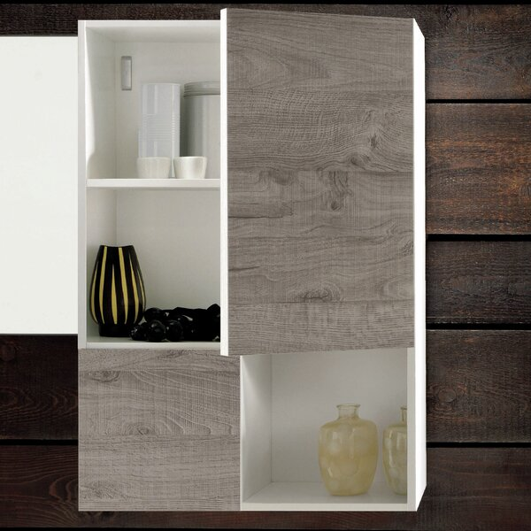 Broadmoor 19.5 W x 29.5 H Wall Mounted Cabinet by Latitude Run