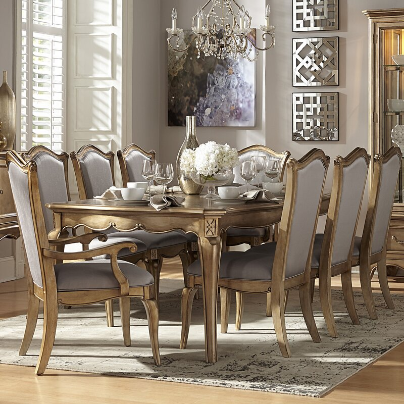 Bainbridge 9 Piece Dining Set & Astoria Grand Bainbridge 9 Piece Dining Set u0026 Reviews | Wayfair