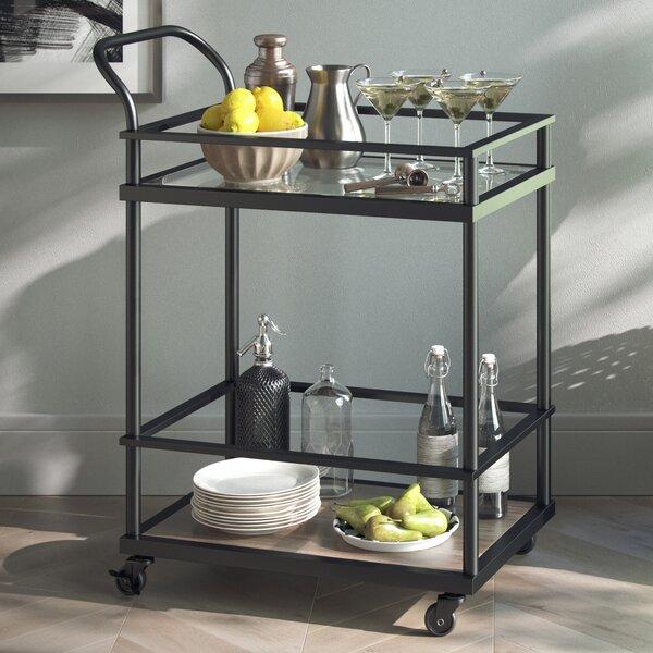Lanford Kitchen Bar Cart by Wrought Studio