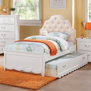 Clearance Scalf Tufted Upholstered Panel Bed ByHarriet Bee