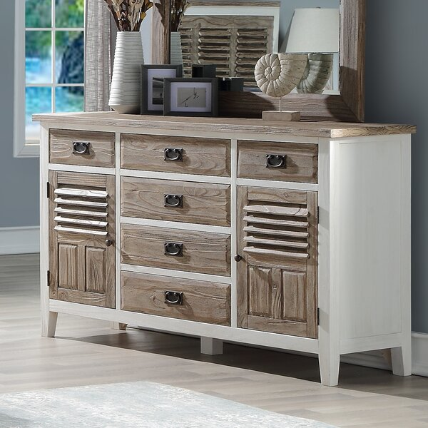 Matthews 6 Drawer Combo Dresser by Rosecliff Heights