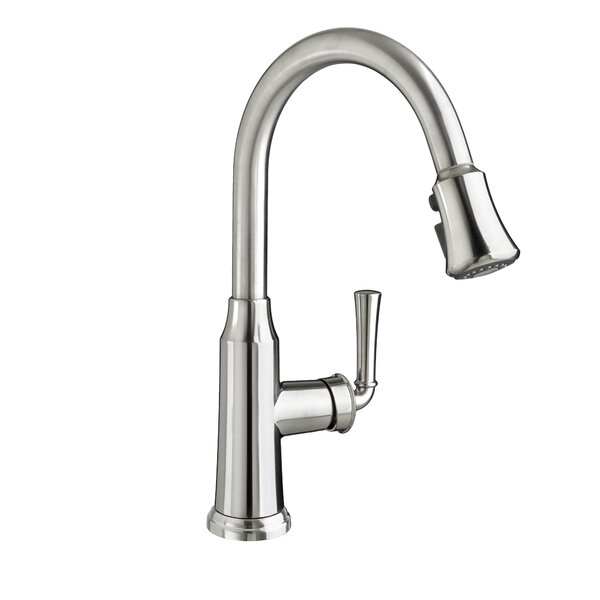 Portsmouth Pull Down Single Handle Kitchen Faucet by American Standard