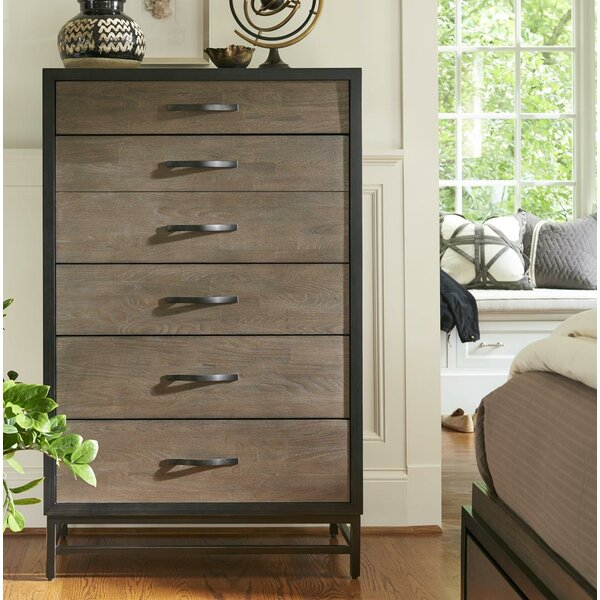 Forrest 5 Drawer Chest by Modern Rustic Interiors