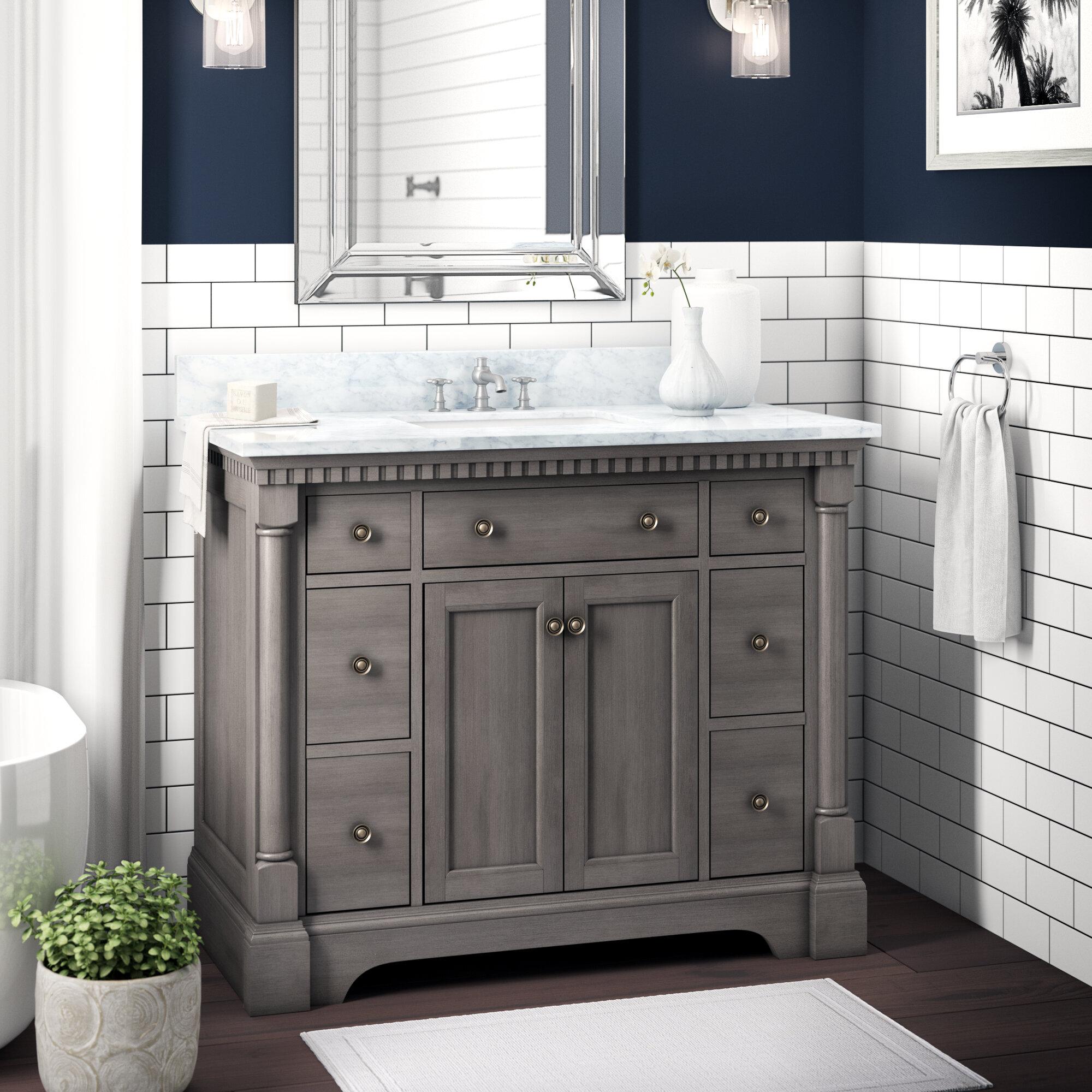 """Seadrift 10"""" Single Bathroom Vanity Set"""