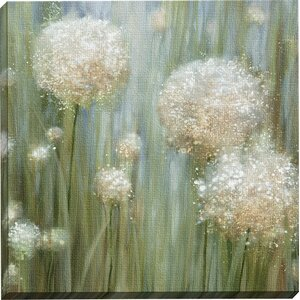 'In Bloom 33' Framed on Canvas by Lark Manor