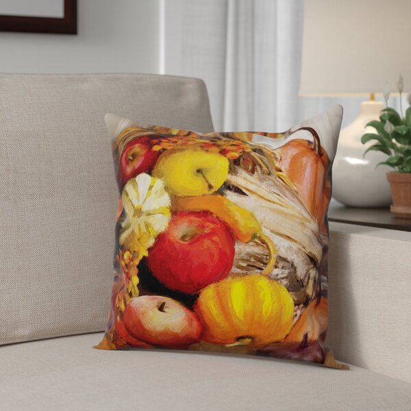 Fall Cornucopia Pillow Cover by The Holiday Aisle