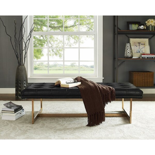 Noreen Upholstered Bench by Everly Quinn