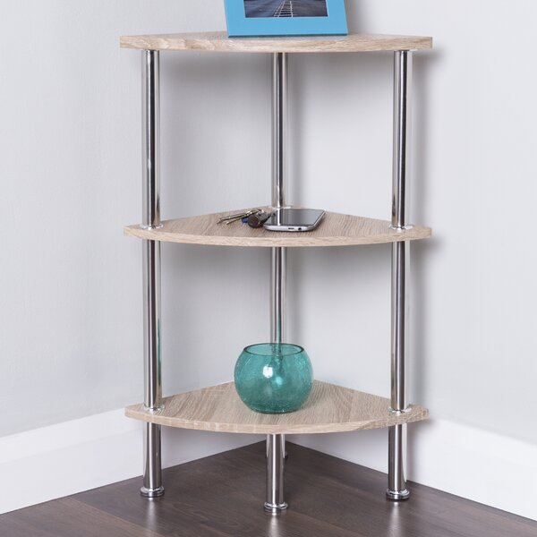 Adelinna Corner Bookcase by Latitude Run