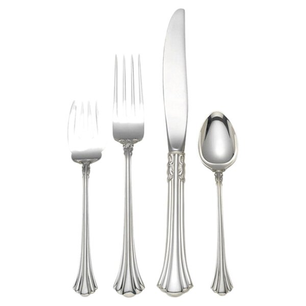 18th Century Collection 4 Piece Large Size Flatware Set by Reed & Barton