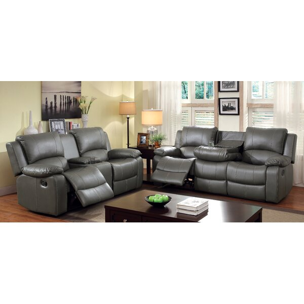 Wellersburg Reclining Configurable Living Room Set by Darby Home Co