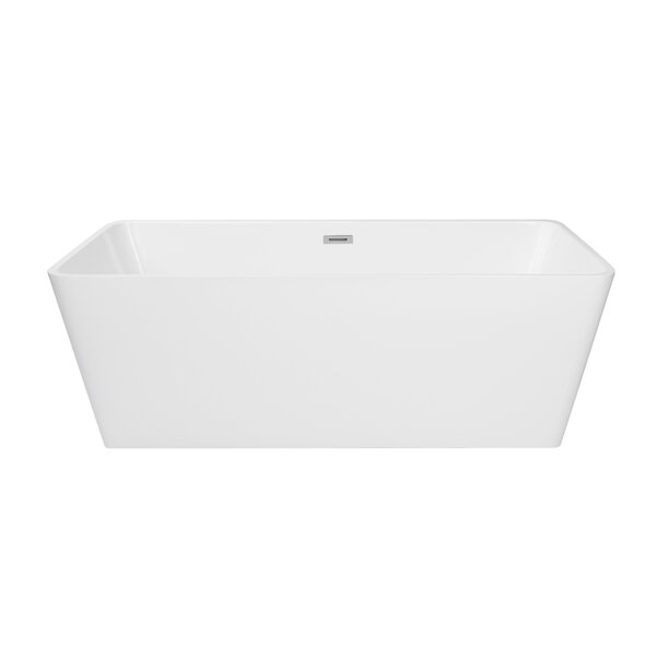 Norris 67 x 30 Freestanding Soaking Bathtub by Maykke