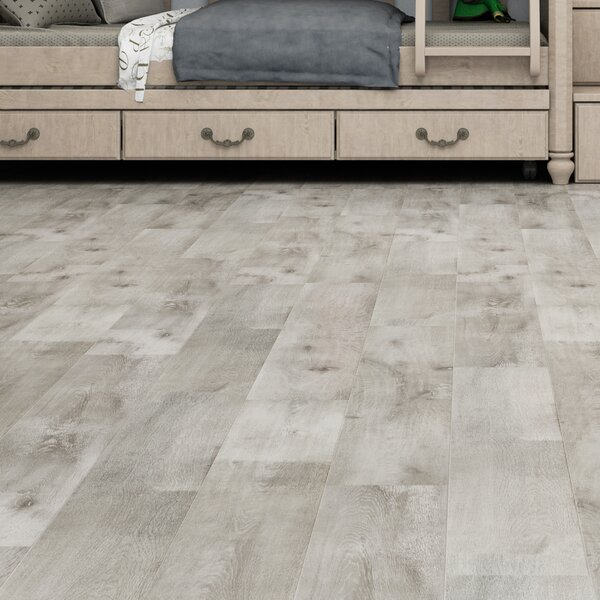 Novus 6.5 x 48 x 12mm Oak Laminate Flooring in Sand Dune by Montserrat