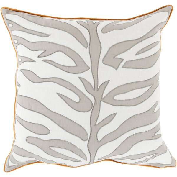 Eugenia Zebra Throw Pillow by House of Hampton