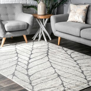 Sackett Light Gray Area Rug by Wrought Studio