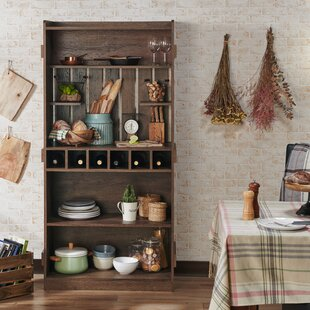 Shopping for Wilburn Farmhouse Manufactured Wood Baker's Rack Purchase & reviews