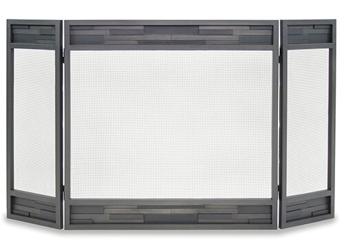 Lanier 3 Panel Iron Fireplace Screen By Pilgrim Hearth