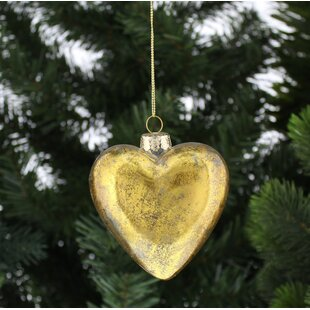 heart shaped ornaments wayfair co uk