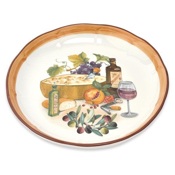 Mona Lisa Rice Platter by Lorren Home Trends
