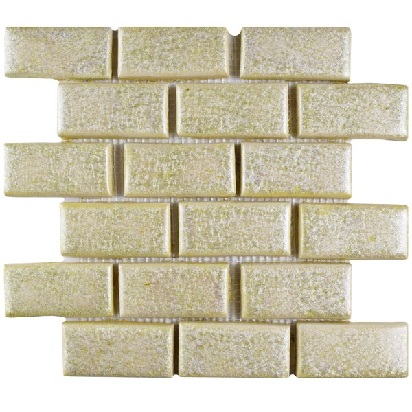 Greenwich Subway 1.75 x 4 Ceramic Mosaic Tile in Beige by EliteTile