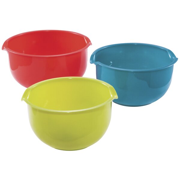 3 Piece Mixing Bowl Set by KitchenWorthy