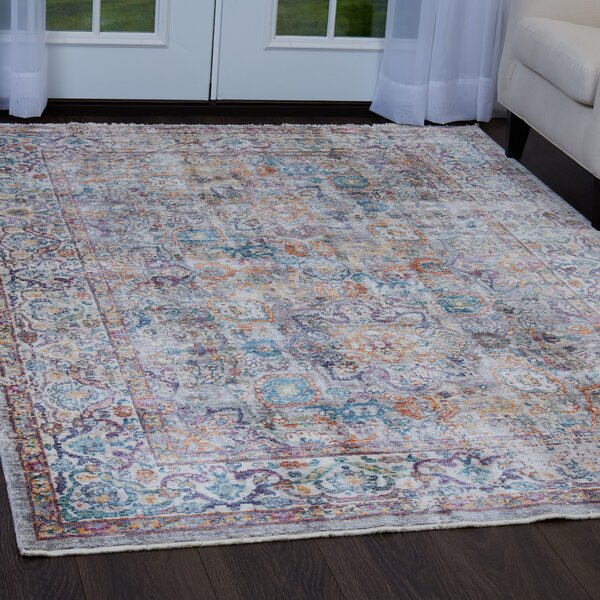 Artisan Pastel Gray/Ivory Area Rug by Nicole Miller