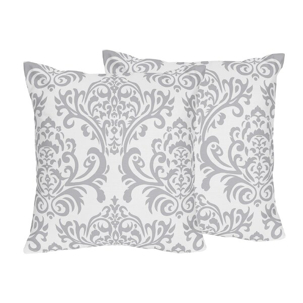 Skylar Cotton Throw Pillow (Set of 2) by Sweet Jojo Designs
