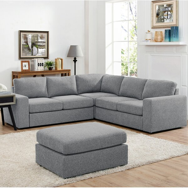 Angelia Reversible Sectional with Ottoman by Ivy Bronx