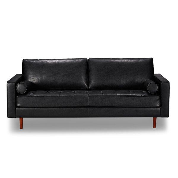 Bombay Leather Sofa By Trent Austin Design