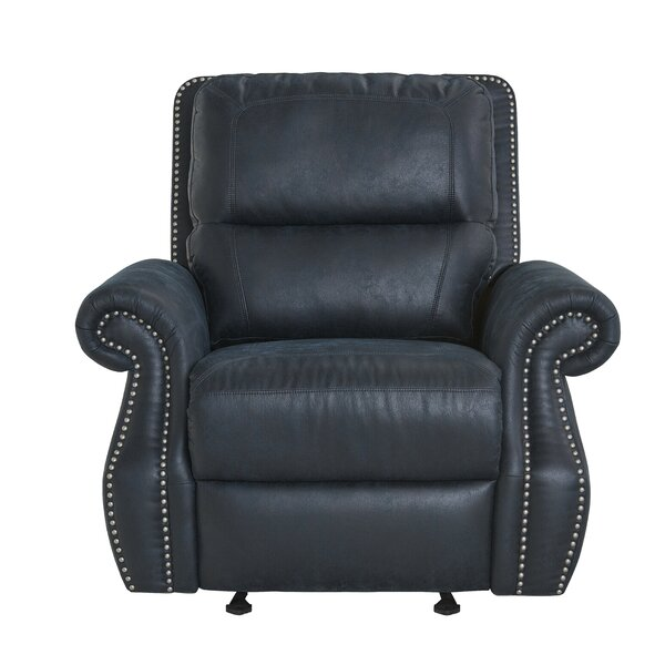 Bechtel Manual Glider Recliner by Alcott Hill