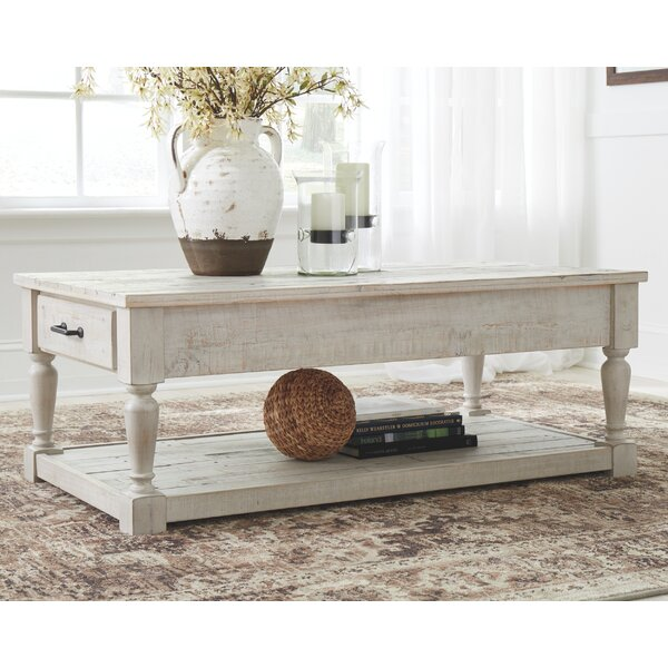 Theron Coffee Table With Storage By Highland Dunes
