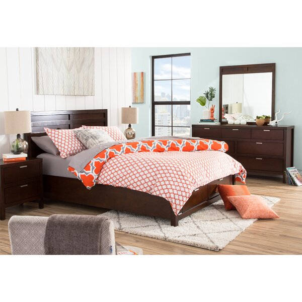 Juno Storage Platform Configurable Bedroom Set by Mercury Row