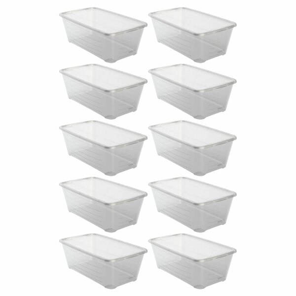 Shoe Storage Box (Set of 10)