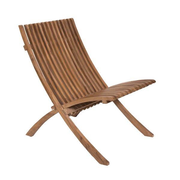 Weston Teak Patio Chair by Bayou Breeze