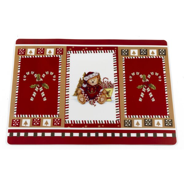 Christmas Bears Holiday Placemat (Set of 4) by Ben and Jonah