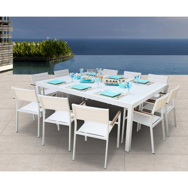 Rizzuto 11 Piece Dining Set by Orren Ellis