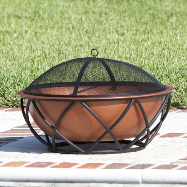 Barzelonia Steel Wood Burning Fire Pit by Fire Sense